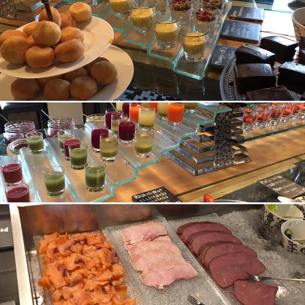 aamiaisbuffet Rovaniemi