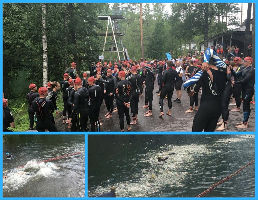Triathlon vierumäki osakilpailu Finntriathlon